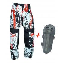 Zestaw: MX spodnie RSA Cross + Ochraniacze kolan RSA Ksafe