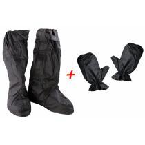 Zestaw: Wodoodporne nakładki na buty i rękawice