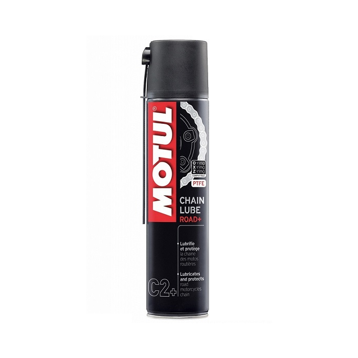 Smar do łańcucha Motul C2+ Road Plus aerozol 400 ml