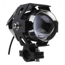 Uniwersalne dodatkowe LED światło Cree z wyłącznikiem czarne
