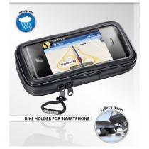 Wodoodporny uchwyt na kierownicę Interphone-do 4,3