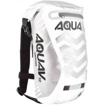 Plecak wodoodporny Oxford Aqua V12 Extreme Visibility biało/szary