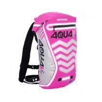Plecak wodoodporny Oxford Aqua V20 Extreme Visibility różowy