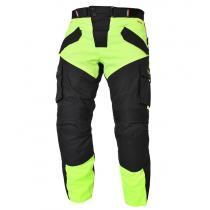 Spodnie na motocykl RSA Tops czarno-fluo żółte wyprzedaż
