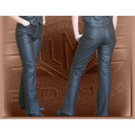 Spodnie skórzane Klasik - damskie wyprzedaż
