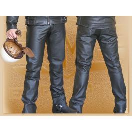 Spodnie skórzane Klasik wyprzedaż
