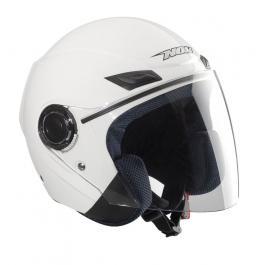 Kask motocyklowy NOX N630-Biały wyprzedaż