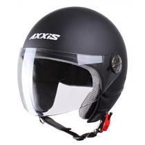 Kask moto otwarty Axxis Zyclo czarny matowy wyprzedaż